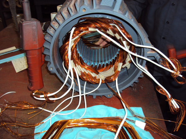 A c 3 phase motor repair michigan industrial equipment for 3 phase motor troubleshooting